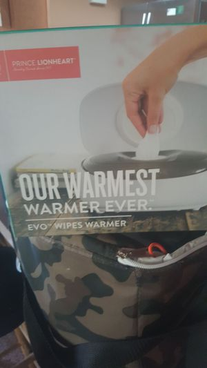 Baby product wipe warmer