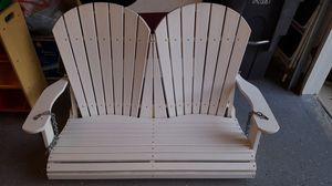 Polywood porch swing