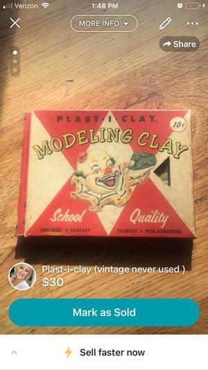 Vintage Plast-I-Clay