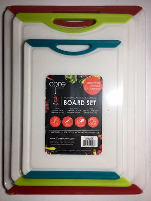 Core Nonslip Craving & Cutting Board Set (New - unopened)
