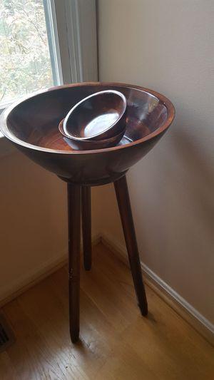 Decorative Wooden Bowl Set