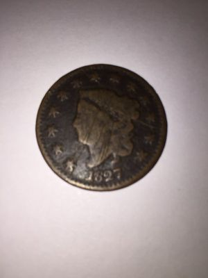 1827 One Cent