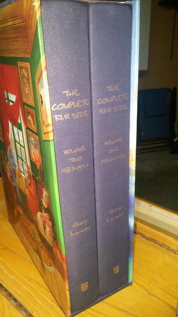 Complete Far Side Collection and collection of The Chronicles of