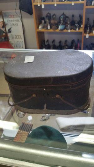 Antique lunch pail