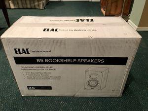 ELAC B5 Debut monitor speakers by Andrew Jones - brand new
