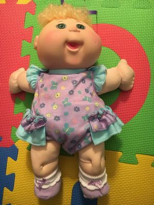 Cabbage patch baby doll like new
