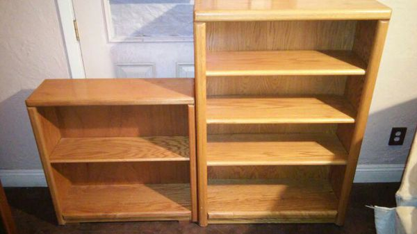 Wood Book Shelves Buy As A Set Or Separate Furniture In