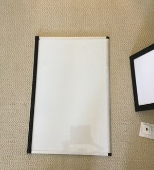 Big white board