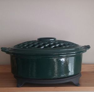 Vermont Castings Wood Burning Stove Steamer And Trivet
