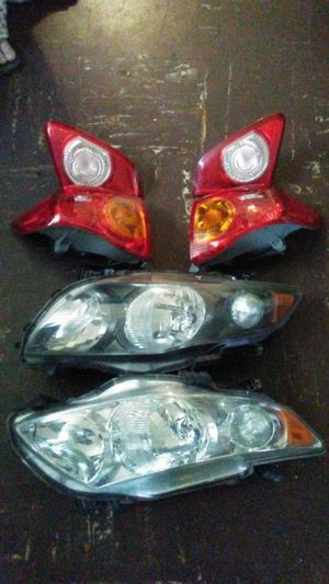 TOYOTA COROLLA head light and tailligts