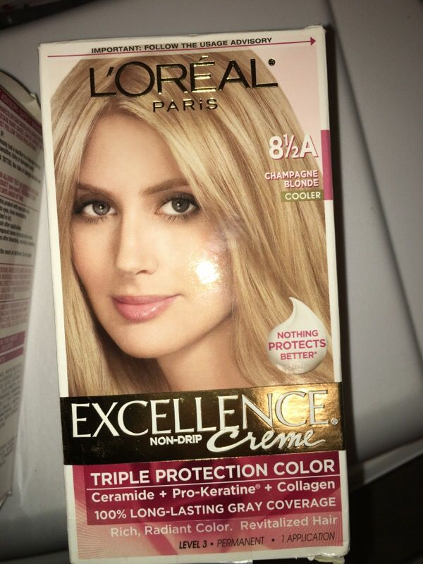 2 Loreal Excellence Cream Hair Dye 8 12 A Beauty Health In