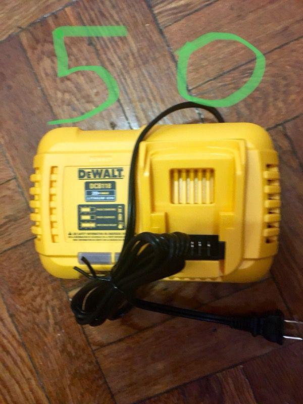 Fast Dewalt charge brand new