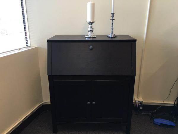 two extra ikea hemnes secretary desks in the box. Black Bedroom Furniture Sets. Home Design Ideas
