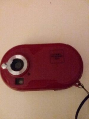 Sharper image red camera and video recorder