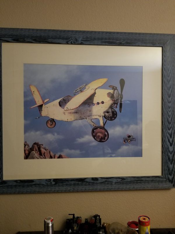 Airplane framed picture (Household) in Hemet, CA - OfferUp