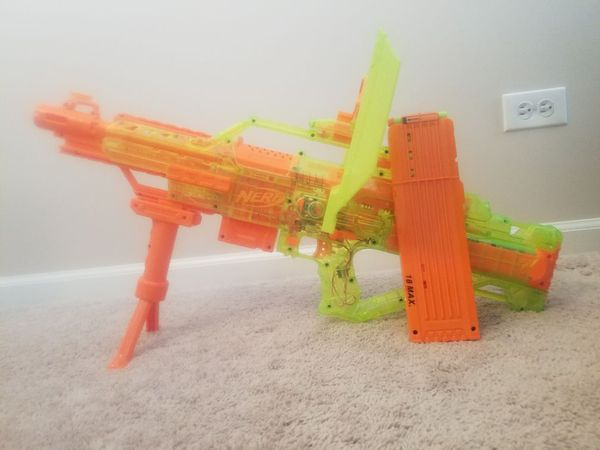 Nerf stampede ecs toy gun with clip and bullets (Games & Toys) in Round  Lake, IL