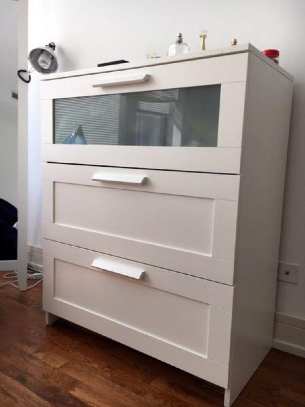Ikea Brimnes dresser 3 drawers (Furniture) in San Jose, CA - OfferUp