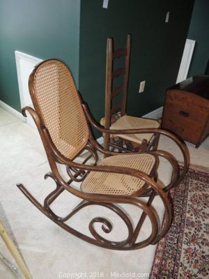 Bentwood Rocker - get your relaxation on!