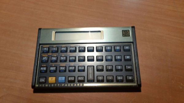 Hewlett Packard HpC Financial Calculator Collectibles In Fort