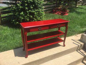 Red Bureau/ table