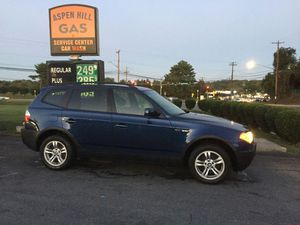 2004 BMW X3 one owner