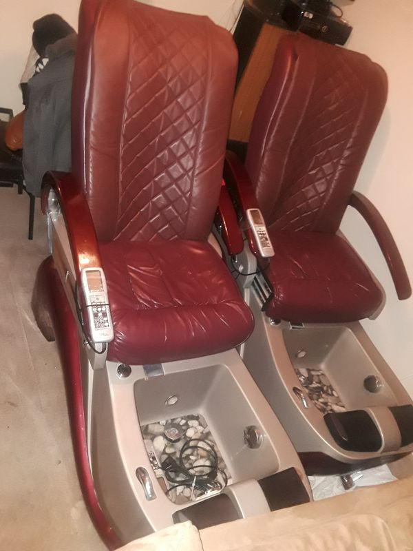 Two Salon massage and pedicure Chair