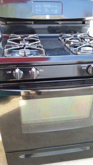 Black gas stove like new