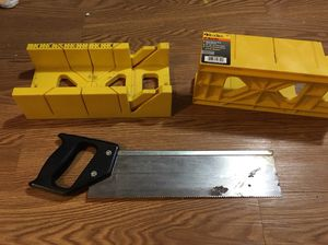"""12"""" Mitre box and saw"""