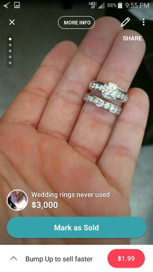 New and Used Wedding ring sets for sale in Panama City FL OfferUp