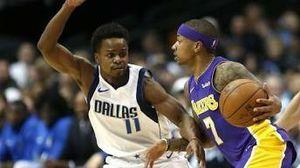 2 tickets to the Laker vs Dallas Mavericks game in LA March 28th
