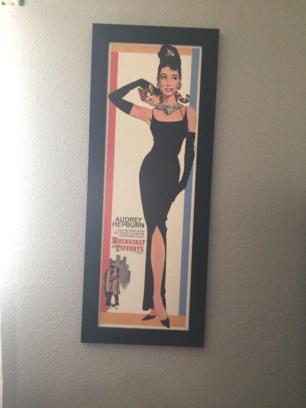 Audrey Hepburn Classic Frame (Arts & Crafts) in San Antonio, TX
