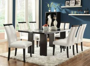 Dining Table With LED Lighting 4 Chairs