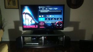 """Sharp Aquos 65"""" 1080p LCD and entertainment center!!!"""