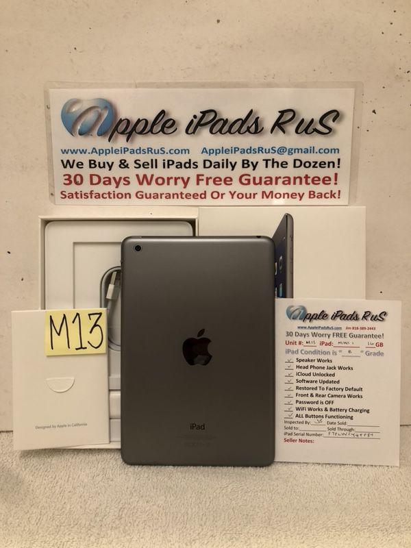 M13 - iPad mini 1 16GB