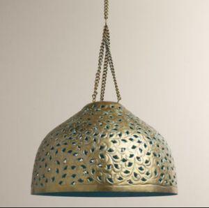 Desiree Metal Bell Lamp Pendant