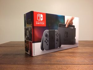 Gray Nintendo Switch - Brand New and Unopened!