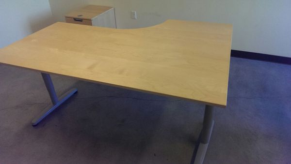 Office Desk With Wrap Around Design PRICE DROPPED