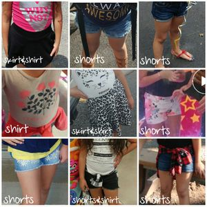 Girls spring/summer clothes