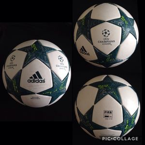 PRICE FOR 1 BALL! FIRM/INNEGOCIABLE! ORIGINAL AUTHENTIC. NEW. CHAMPIONS LEAGUE. FIFA ✅. SIZE 5.