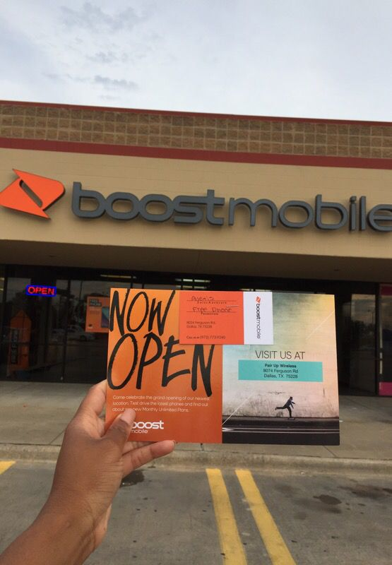 Free phone when you switch to boost (location 8074 ferguson rd ...