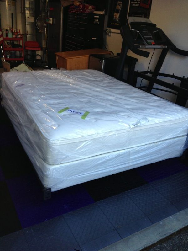 Beauty rest euro top mattress set furniture in everett for Bedroom furniture 98203