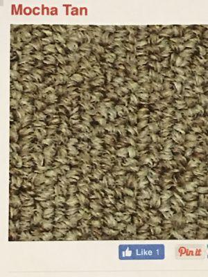 Premium Berber Carpet - Mocha Tan