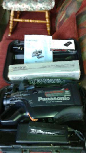 Panasonic omnimovie pv700 camcorder