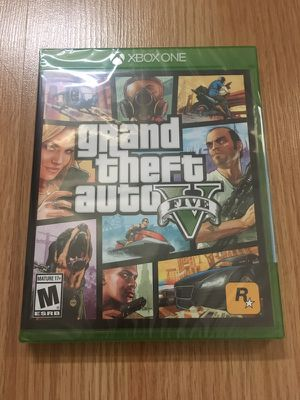 GTA 5 Xbox one brand new, never used!