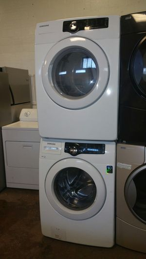 Samsung front load washer and dryer electric set- free delivery - 4 months warranty
