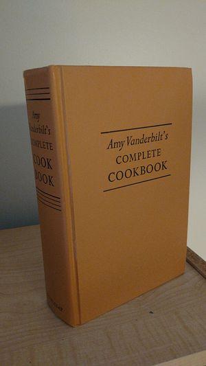 Amy Vanderbilt's complete cookbook