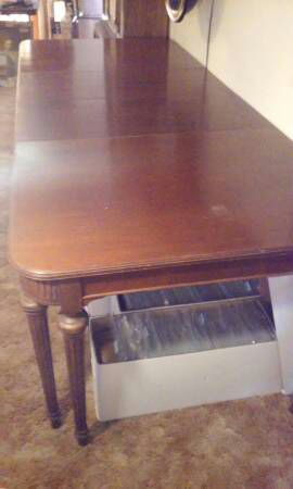 lammerts long dining room table furniture in st louis mo