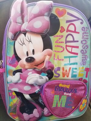 NEW Minnie Mouse Backpack