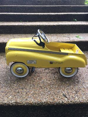 Yellow Taxi Pedal Car