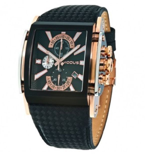 Modus Optimus Watch Rose gold and Black Jewelry Accessories in